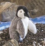 2178 Мягкая игрушка Детеныш пингвина императорск Folkmanis (Фолк