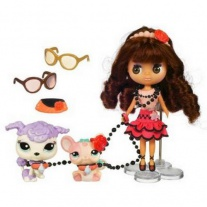 """25799 Игровой набор """"Блайс и 2 зверюшки"""" из серии """"Маленький Зоомагазин"""" (Littlest Pet Shop) Hasbro"""
