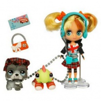 """25828/ast25799 Игровой набор """"Блайс и 2 зверюшки"""" из серии """"Маленький Зоомагазин"""" (Littlest Pet Shop) Hasbro"""