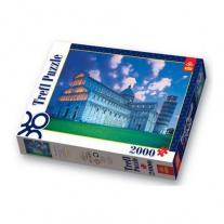 27052 Пазл 2000 дет. - Падающая башня в Пизе  Trefl