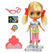 """28353/ast28354 Кукла Блайз - блондинка из серии """"Маленький Зоомагазин"""" (Littlest Pet Shop) Hasbro"""