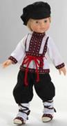 284 Кукла  Коля 32см Paola Reina