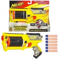 "28418 NERF Бластер ""Маверик"" со стрелами. Серия N-Strike Hasbro"