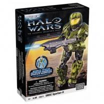 29671 Солдат Spartan-II в зелёной броне, персонаж игры HALO (сер
