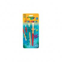 3005 3 кисточки для красок Crayola