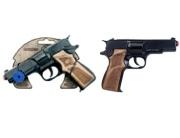 3125/6 Полицейский пистолет черный Gonher