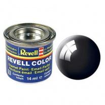 32107 Краска черная РАЛ 9005 глянцевая Revell