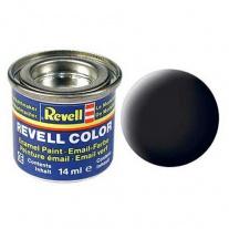 32108 Краска черная РАЛ 9011 матовая Revell