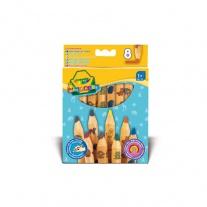 3678 8 толстых карандашей для малышей Crayola