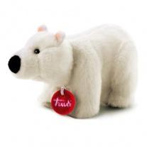 50948 Мягкая игрушка Полярный мишка (делюкс) в красной подарочно