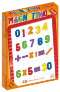 5183 Магнитные цифры и знаки (48 шт.) Quercetti td