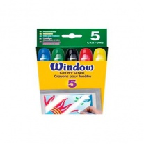 52-9765 Восковые мелки для рисования на окнах Crayola