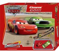 "62122 Автотрек Disney ""Cars"" GO!!! с 2-мя машинками Carrera"