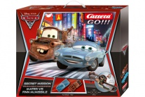 62239 Автотрек Disney Тачки 2 Секретная Миссия GO!!! Carrera