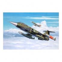 """64060 Набор """"Истребитель Set F-104 G"""", масштаб 1:144(в набор вхо"""