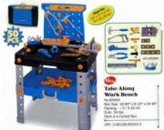 65004 Стол + набор инструментов Red Box