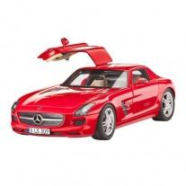 67100 Набор Автомобиль Mercedes SLS AMG(в набор входят краски и