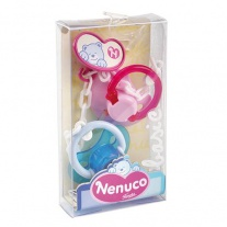 700004687 Соска для куклы Ненуко, 2 штуки. Famosa