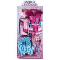 700005410 Модный набор одежды для куклы Нэнси (3 в ассорт) Famos