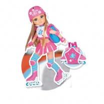 700007273 Ненси-спортсменка в розовом (48 см) Famosa