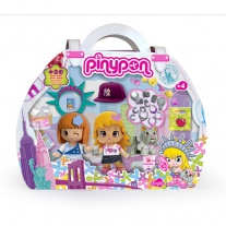 700007350 кукла Пинипон - путешественница (2 куклы, 1 питомец, а