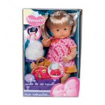 700007422 Кукла Ненуко на прогулке с кроликом, 42 см Famosa