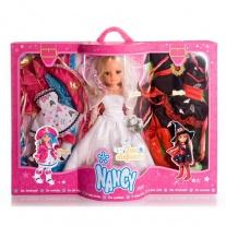700007821 Кукла Нэнси - невеста + 2 дополнительных маскарадных к