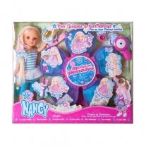 """700007822 Кукла Нэнси в наборе """"Дизайн-студия для волос"""" Famosa"""