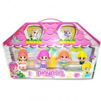 700008152 4 куклы Пинипон + 2 питомца и множество аксессуаров Fa