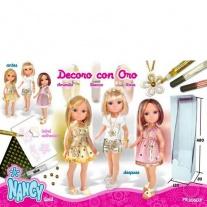 700008203 Кукла Нэнси с короткой стрижкой (3 в ассорт.) + украше