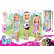 700008206 Кукла Нэнси и ее маленький питомец (3 в ассорт.) Famos