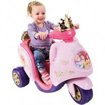 "800003096 Электромотоцикл ""Принцессы ""  6 V Feber"