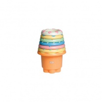 80040 Разноцветные ведерки Tolo Baby Tolo Toys