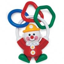 86197 Погремушка «Клоун» Tolo Toys