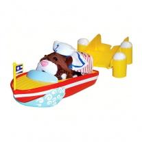86681 Лодка и причал  для хомячков из серии Zhu Zhu Pets Cepia