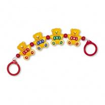 87120 Погремушка на коляску «Медвежата» Tolo Toys