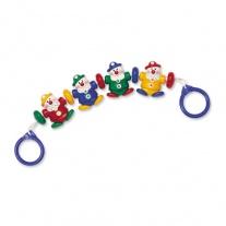 87125 Погремушка на коляску «Маленькие клоуны» Tolo Toys