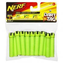 93338 Запасной набор из 16 стрел к бластерам Нерф (зелёного цвета). Серия Dart Tag Hasbro
