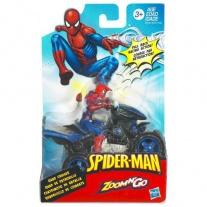 "93572 Фигурка Человека-Паука на мотоцикле ""Веб Райдер"" Hasbro"