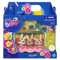 """93631 Крольчата-тройняшки из серии """"Маленький Зоомагазин"""" Hasbro"""