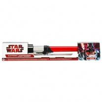 94178/ast94177 SW Войны Клонов. Световой Меч  (электронный). Красный(Дарт Вейдер) Hasbro