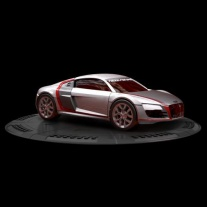 95701 Мини-машинка NFS с пусковым устройством  - Audi R8 Mega Bl