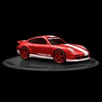 95703 Мини-машинка NFS с пусковым устройством - Porsche 911 Turb
