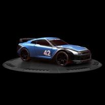 95704 Мини-машинка NFS с пусковым устройством - Nissan GT-R Mega