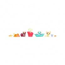 """97788/ast97786 Делюкс-набор """"Зверюшки с открытки"""" с 3-мя фигурками, вариант 1 (серия """"Маленький Зоомагазин"""") Hasbro"""