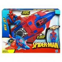 """98375/ast93637 Истребитель """"Веб Джет"""" (с фигуркой Человека-Паука в комплекте) Hasbro"""