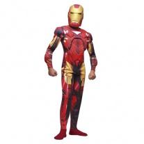"""B796-006 Костюм """"Железный человек 2"""" с мускулами и маской (5-7 лет/спинка 48см, бок.шов 80см) Cesar"""