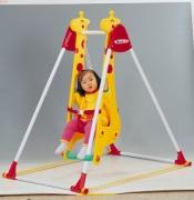 """DS-707 Качели """"Жираф"""" для одного ребёнка Haenim Toys"""