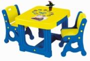 DS-905 Cтол+два стула Haenim Toys