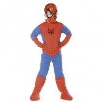 """G722-002 Костюм """"Человек-паук"""" с мускулами и маской (5-7 лет/спинка 48см, бок.шов 80см) Cesar"""